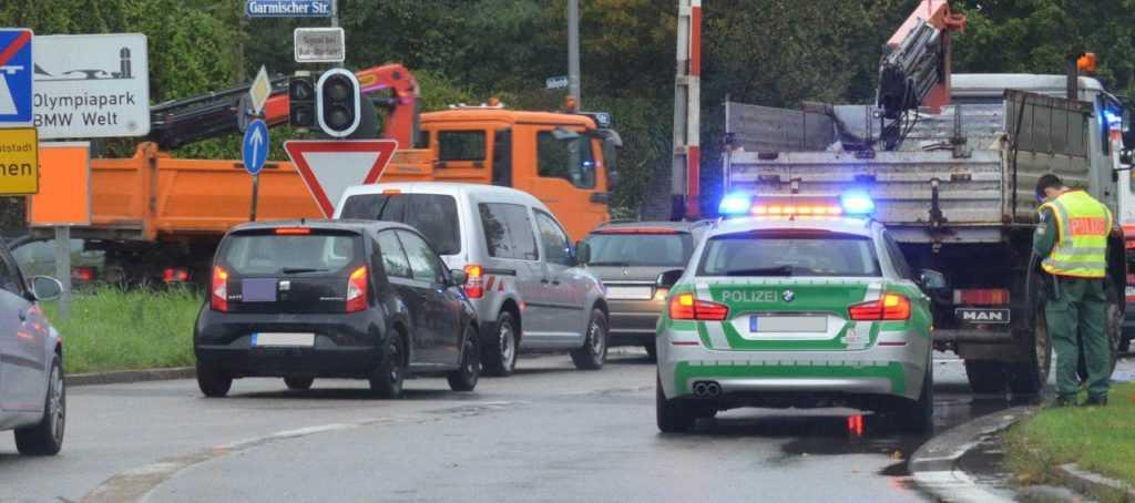 Алкоконтроль полиции в Германии