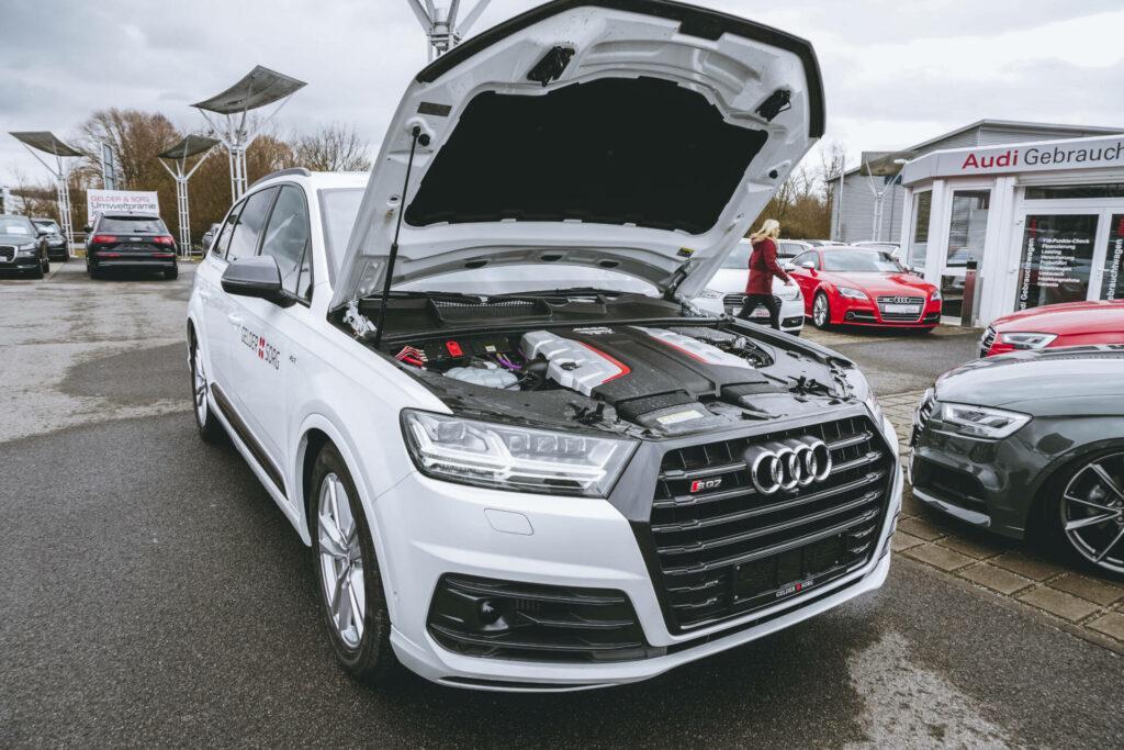 проведения ТО у официального дилера Audi